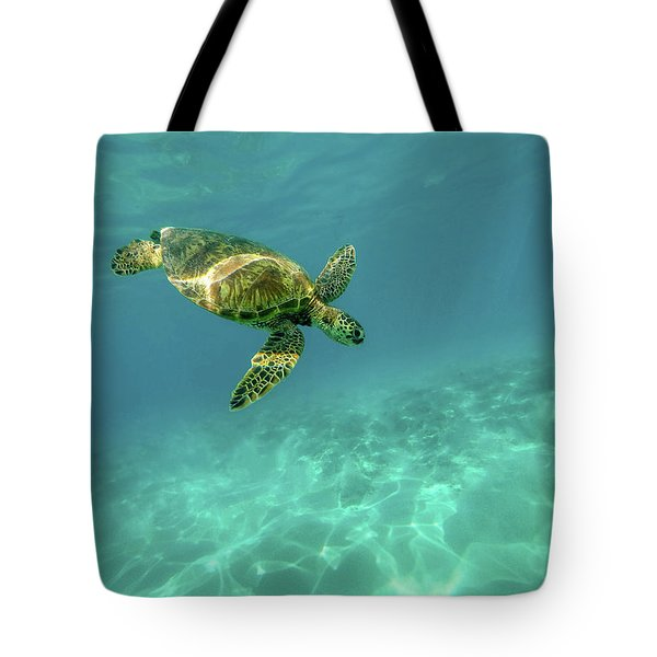 Tortoise Tote Bag by Happy Home Artistry