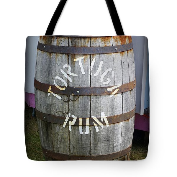 Tortuga Rum Tote Bag by Laurie Perry