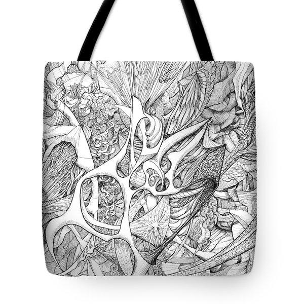 Tortuosity Tote Bag