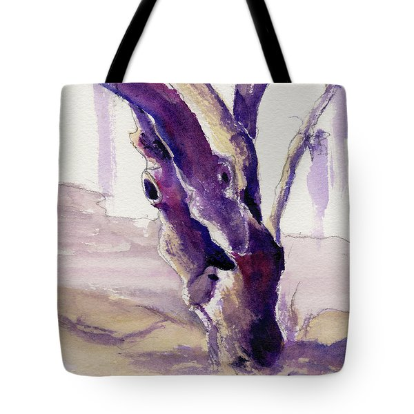 Tote Bag featuring the painting Tortured by Kris Parins