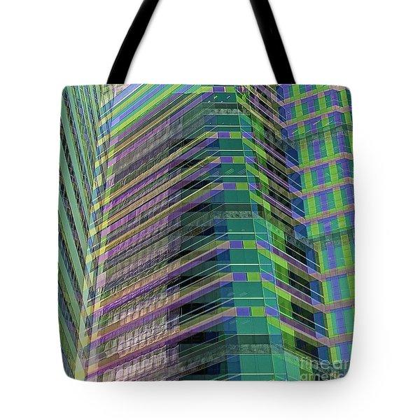 Abstract Angles Tote Bag