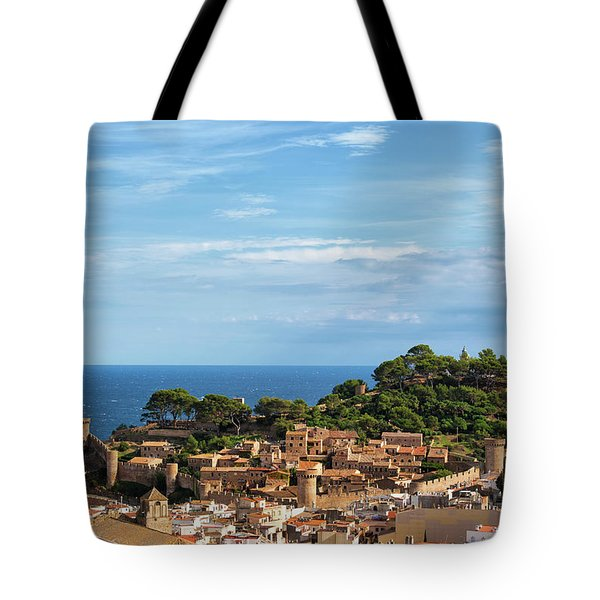 Tossa De Mar Seaside Town In Spain Tote Bag