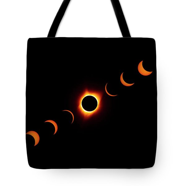 Total Eclipse 2017 Tote Bag