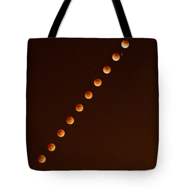 Total Lunar Eclipse September 27 2015 Tote Bag