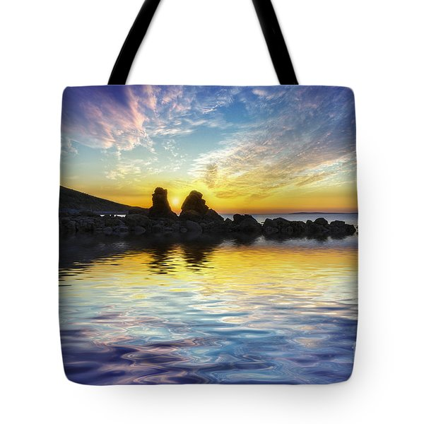 Total Peace Tote Bag by Ian Mitchell