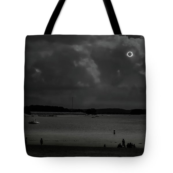 Total Solar Eclipse At Clemson Tote Bag