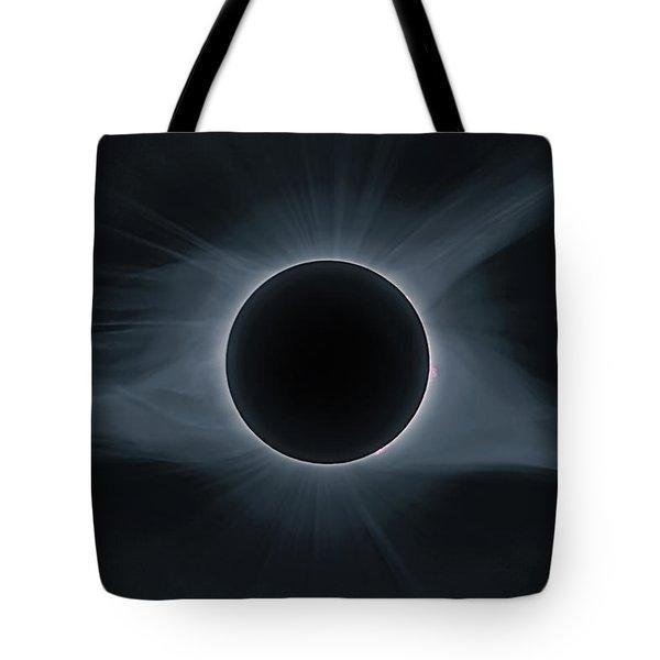 Total Solar Eclipse Corona Tote Bag