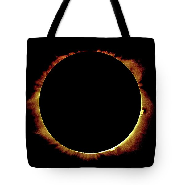 Totality Over Processed Tote Bag