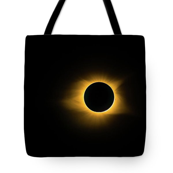 Tote Bag featuring the photograph Totality True Color by Onyonet  Photo Studios