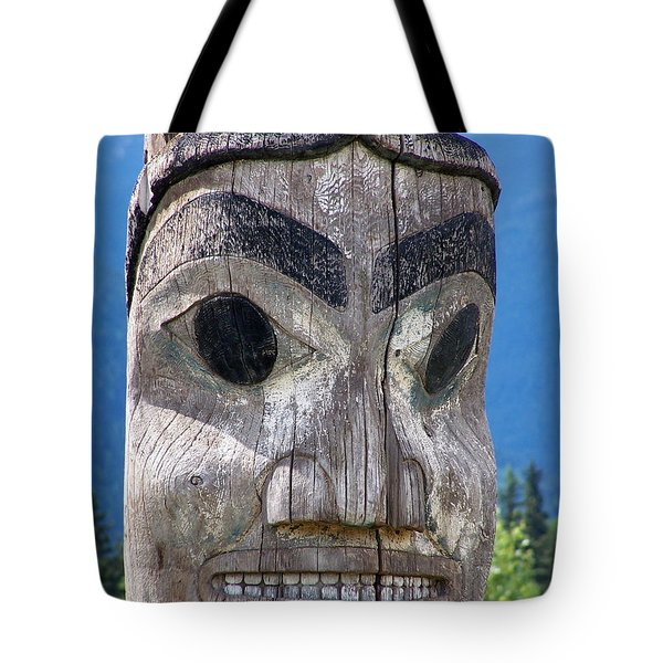 Totem Tote Bag by Marty Koch