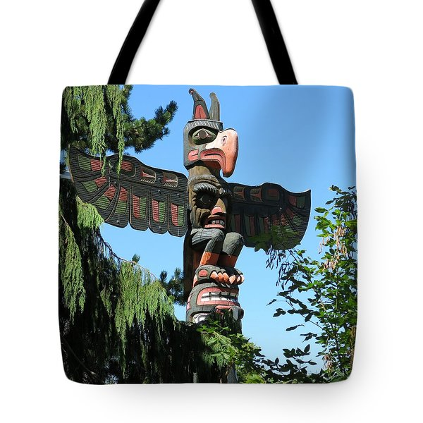 Totem Pole Tote Bag