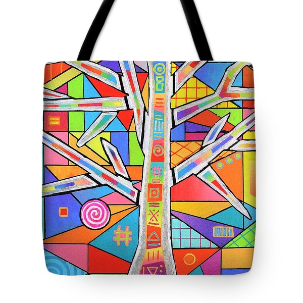 Totem Tree Tote Bag