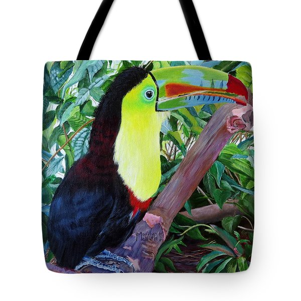Toucan Portrait 2 Tote Bag