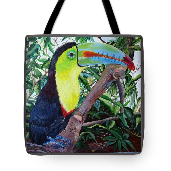 Toucan Portrait Tote Bag
