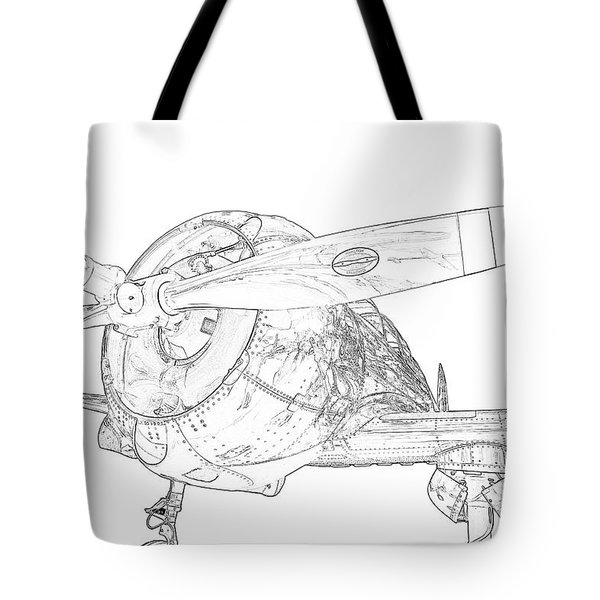 Touch And Go Tote Bag