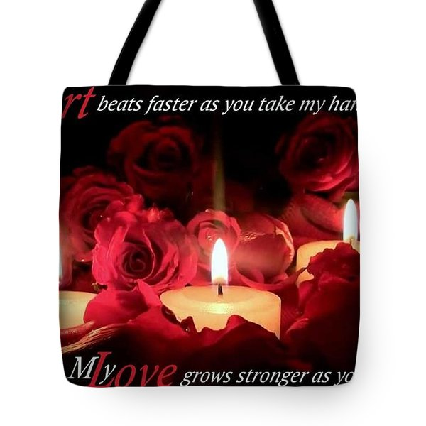 Touch My Soul Tote Bag by David Norman