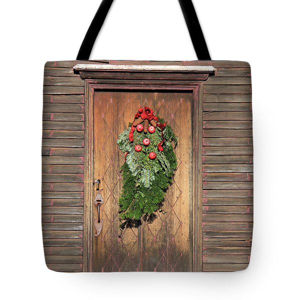 Touch Of Christmas Tote Bag