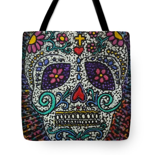 Touch Of Death Tote Bag