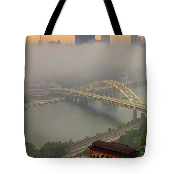 Touch Of Fog  Tote Bag