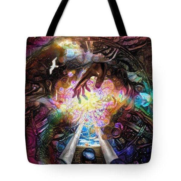 Touch Of God Tote Bag