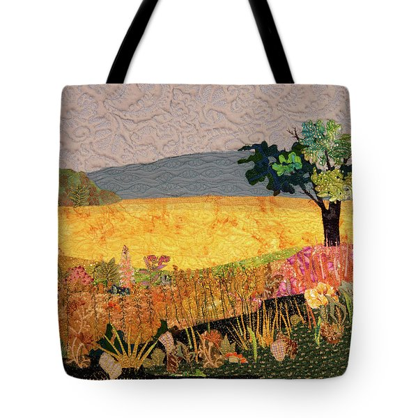 Touch Of Goldenrod Tote Bag
