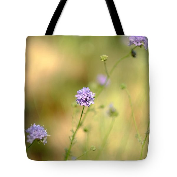 Touch Of Lavender Light Tote Bag