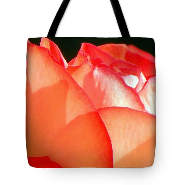 Touch Of Rose Tote Bag by Karen Wiles