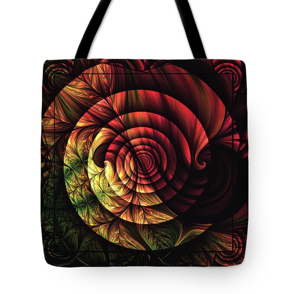 Touch Of Sunshine Abstract Tote Bag by Georgiana Romanovna