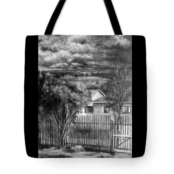 Touch Of The Sun In Gloomy Day Tote Bag