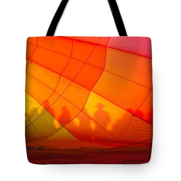 Touch The Rainbow Tote Bag