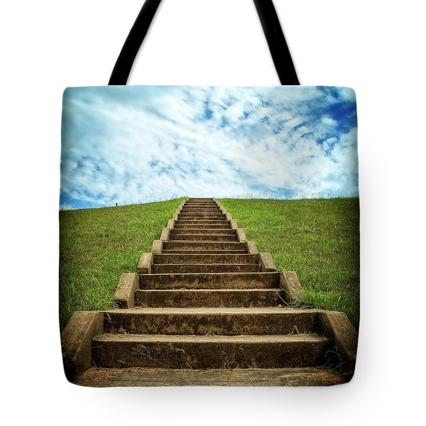 Tote Bag featuring the photograph Touch The Sky by Alan Raasch