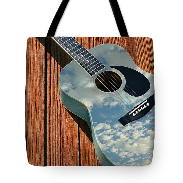Tote Bag featuring the photograph Touch The Sky by Laura Fasulo