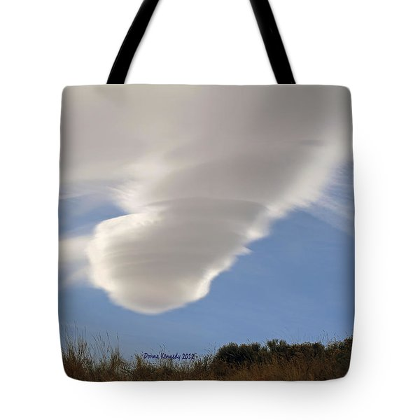 Touchdown Tote Bag by Donna Kennedy