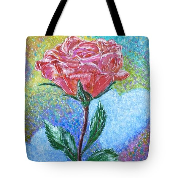 Touched By A Rose Tote Bag