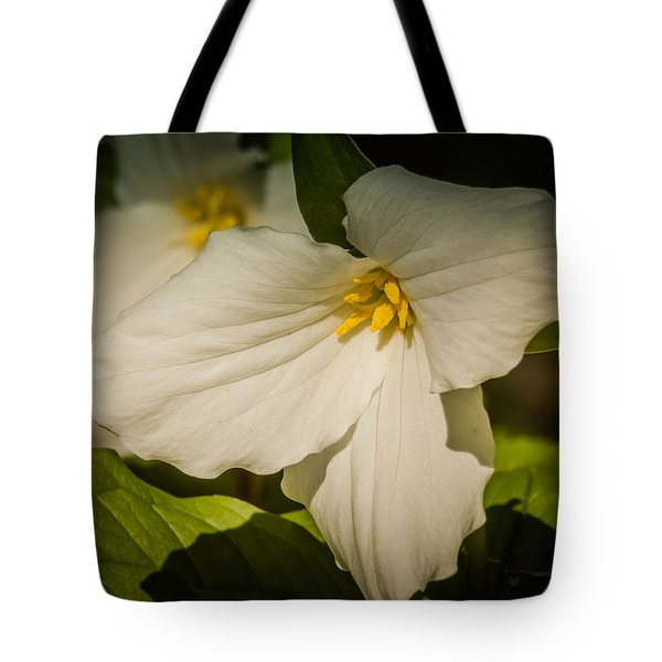 Touched By A Trillium Tote Bag