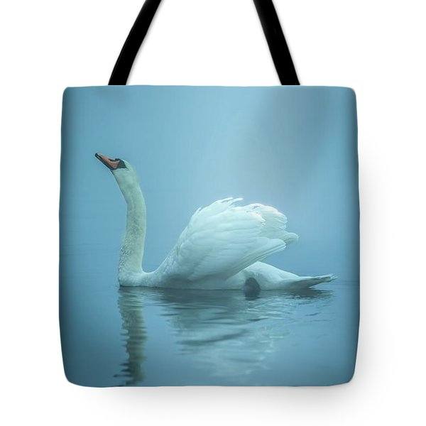 Touched By The Light Tote Bag by Rose-Marie Karlsen