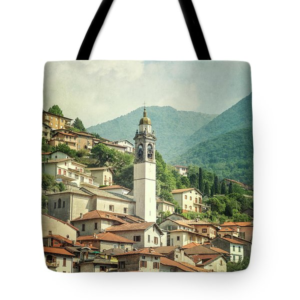 Touching Heaven Tote Bag