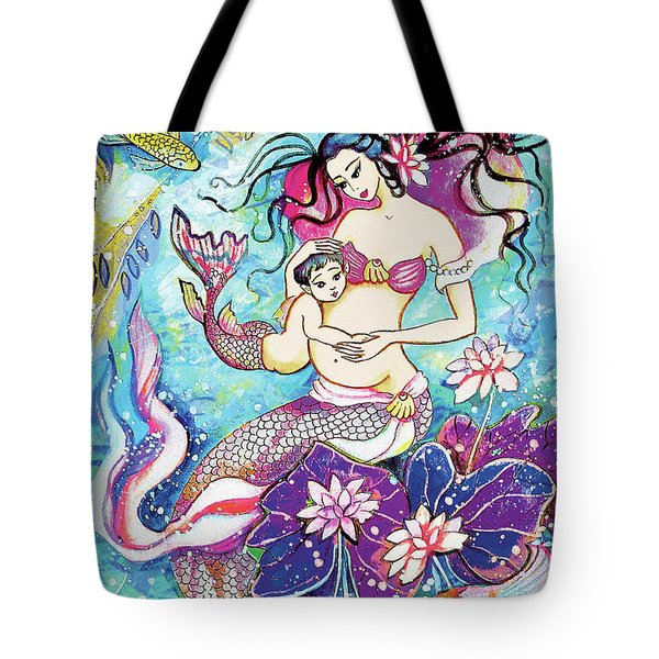 Touching Of Life Tote Bag