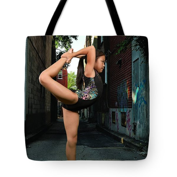 Tote Bag featuring the photograph Touching The Ponytail by Robert Hebert