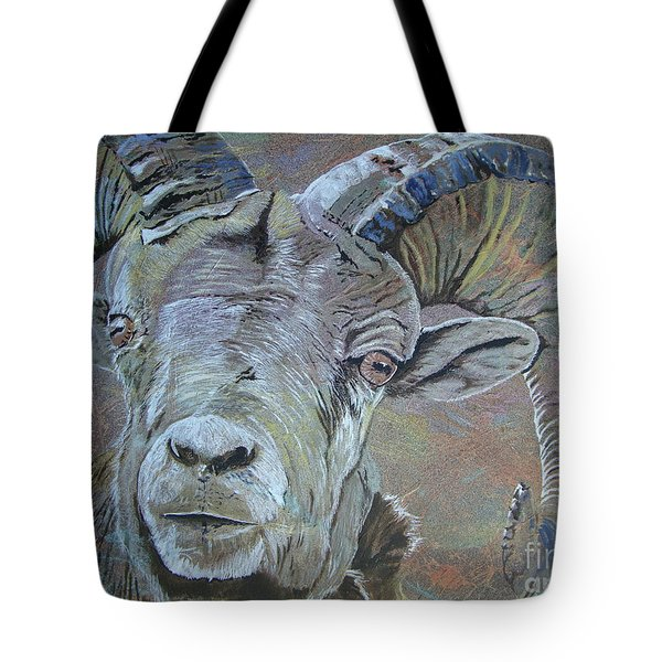 Tough Beauty Tote Bag