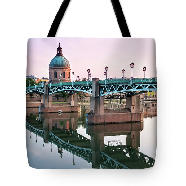 Tote Bag featuring the photograph Toulouse At Sunset by Elena Elisseeva