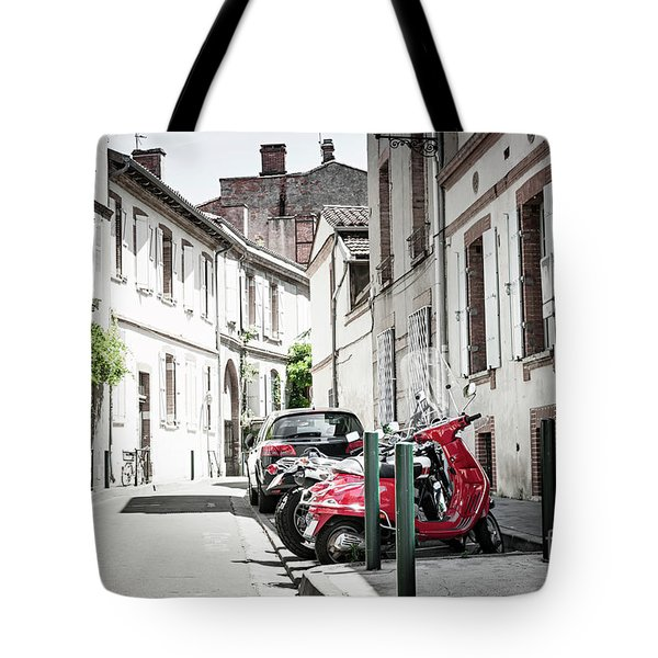 Tote Bag featuring the photograph Toulouse Street by Elena Elisseeva