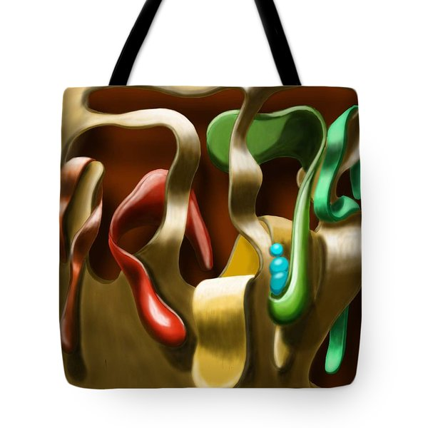Toungue Wall Tote Bag