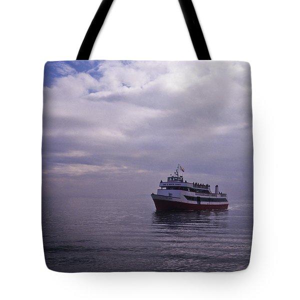 Tour Boat San Francisco Bay Tote Bag