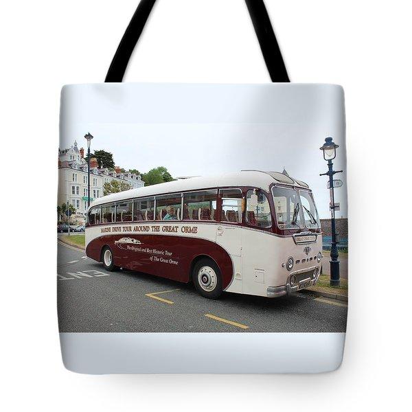 Tour Bus Tote Bag