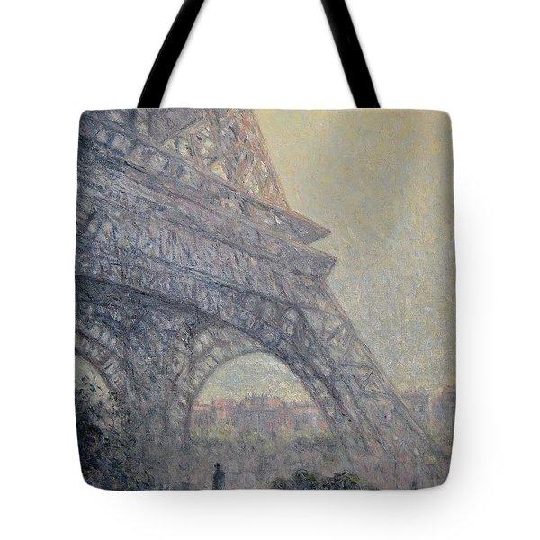 Paris , Tour De Eiffel  Tote Bag