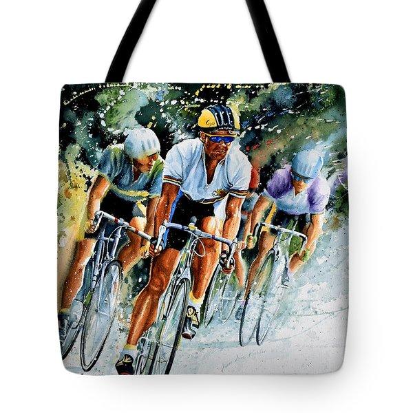 Tour De Force Tote Bag
