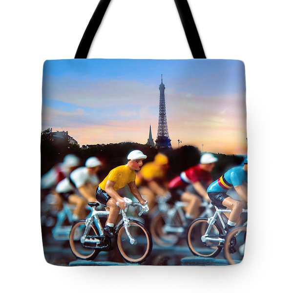 Tour De France Tote Bag by John Rivera