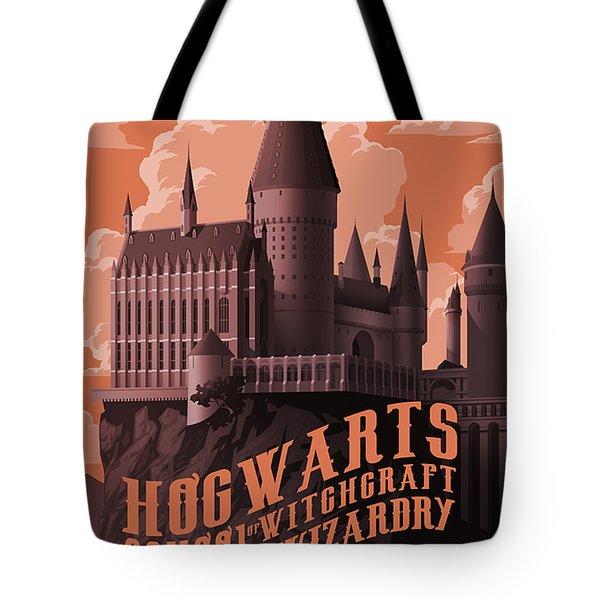 Tour Hogwarts Castle Tote Bag