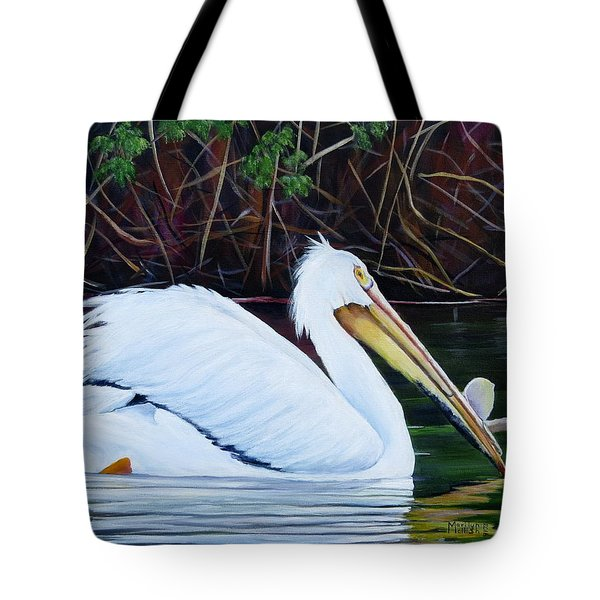 Touring Pelican Tote Bag